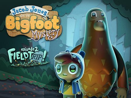 Jacob Jones and the bigfoot mystery: Episode 2 - Field trip! poster
