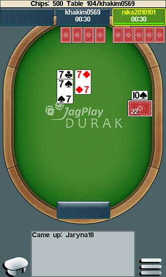 Screenshots von Jagplay: Durak online für Android-Tablet, Smartphone.
