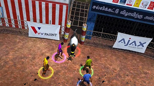 Screenshots von Jallikattu the game für Android-Tablet, Smartphone.