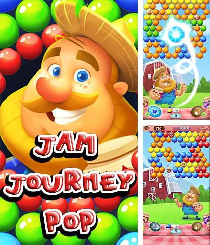 In addition to the game Tiger: The gems hunter match 3 for Android phones and tablets, you can also download Jam journey pop for free.