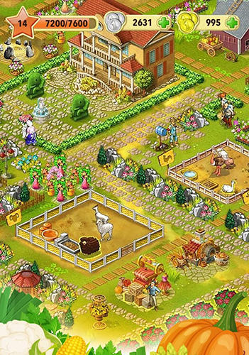 安卓平板、手机Jane's farm: Interesting game截图。