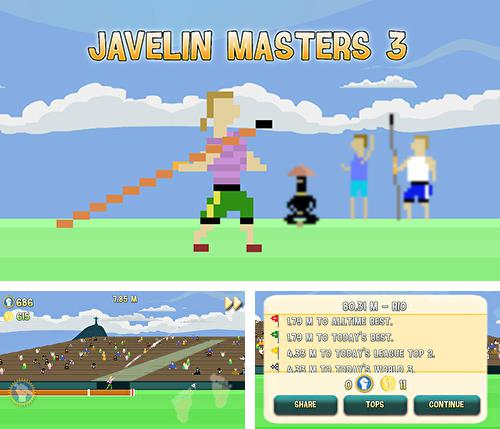 In addition to the game Keep it burning! The game for Android phones and tablets, you can also download Javelin masters 3 for free.
