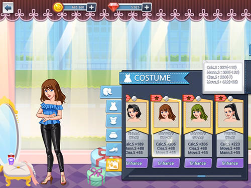 Fashion fever: Top model game скриншот 5