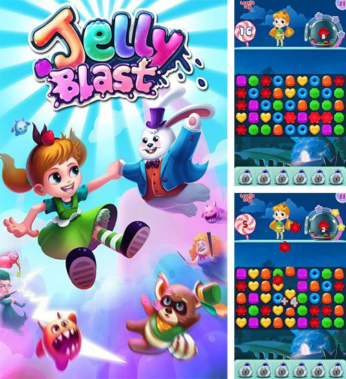 In addition to the game Jelly blast for Android, you can download other free Android games for Oppo F5.