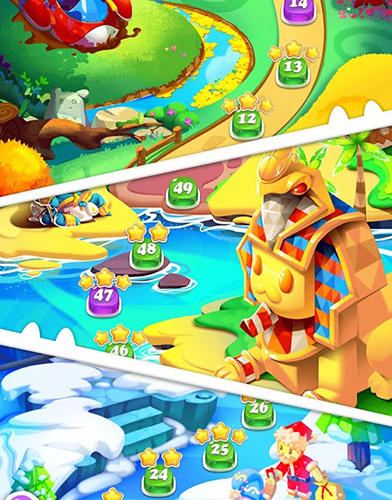 Jelly blast mania: Tap match 2! screenshot 2