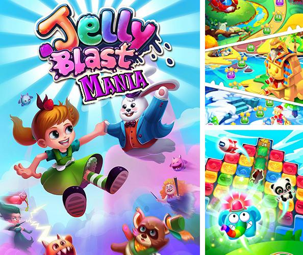 In addition to the game Bunny pop for Android phones and tablets, you can also download Jelly blast mania: Tap match 2! for free.
