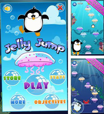 In addition to the game Hexagon for Android phones and tablets, you can also download Jelly Jump for free.