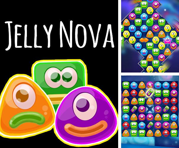 Jelly nova: Match 3 space puzzle