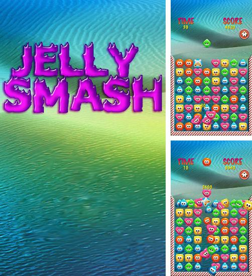 Jelly smash: Logical game