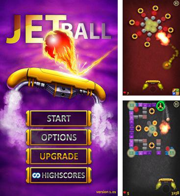 In addition to the game iNoid for Android phones and tablets, you can also download Jet Ball for free.