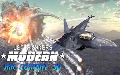 Jet fighters: Modern air combat 3D poster