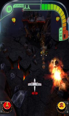 Screenshots of the Jet Raiders for Android tablet, phone.