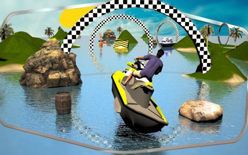 Jet ski driving simulator 3D screenshot 1