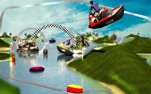 Jet ski driving simulator 3D screenshot 2