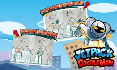 Jetpack Doodleman screenshot 1