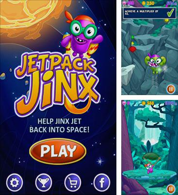 In addition to the game Bert In Space for Android phones and tablets, you can also download Jetpack Jinx for free.