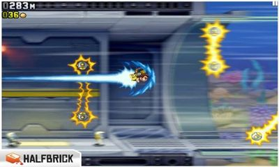 Screenshots do Jetpack Joyride - Perigoso para tablet e celular Android.