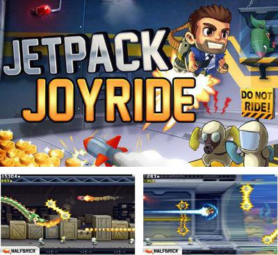 In addition to the game Hill Climb Racing for Android phones and tablets, you can also download Jetpack Joyride for free.