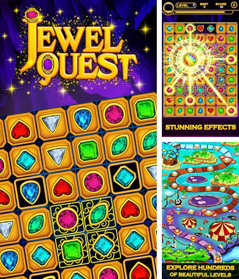 In addition to the game Kingdom jewels for Android phones and tablets, you can also download Jewel quest for free.