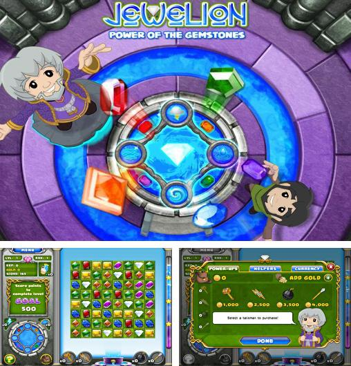 In addition to the game JungleBell for Android phones and tablets, you can also download Jewelion: Power of gemstones for free.