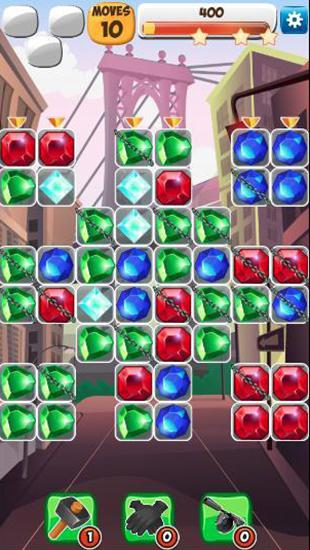 Jewels detective: Match 3 screenshot 3