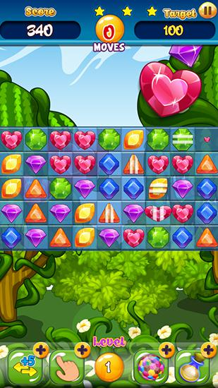 Jewels garden screenshot 2