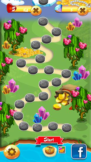 Jewels garden screenshot 3