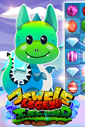 Jewels legend: Island of puzzle. Jewels star gems match 3
