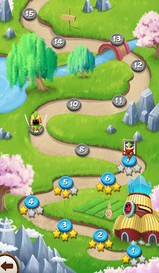 Download Jewels ninja Android free game.