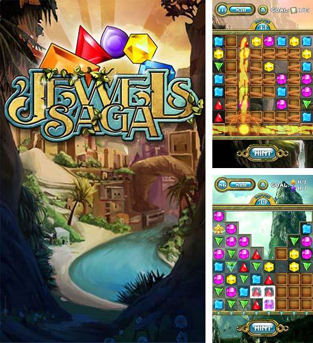 In addition to the game Diamond Wonderland HD for Android phones and tablets, you can also download Jewels saga for free.