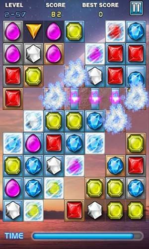 Screenshots do Jewels star - Perigoso para tablet e celular Android.