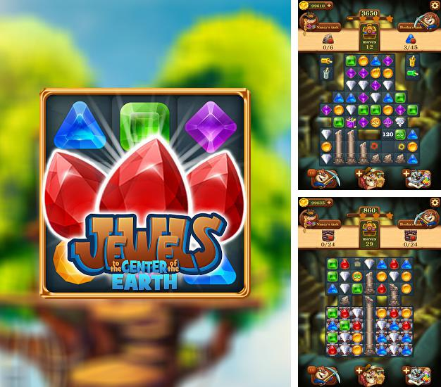 En plus du jeu Le Maître des Runes pour téléphones et tablettes Android, vous pouvez aussi télécharger gratuitement Diamant: Au centre de la Terre, Jewels: To the center of Earth.