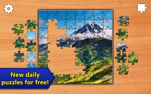 Screenshots do Jigsaw puzzles epic - Perigoso para tablet e celular Android.