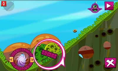 Screenshots of the Joj The Alien for Android tablet, phone.