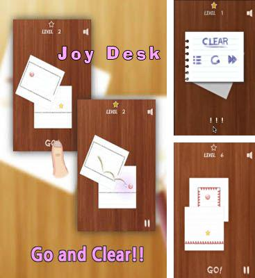 In addition to the game Superpill for Android phones and tablets, you can also download Joy Desk for free.