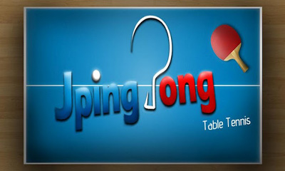 JPingPong Table Tennis poster