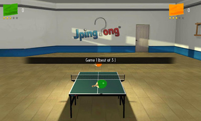 JPingPong Table Tennis screenshot 1