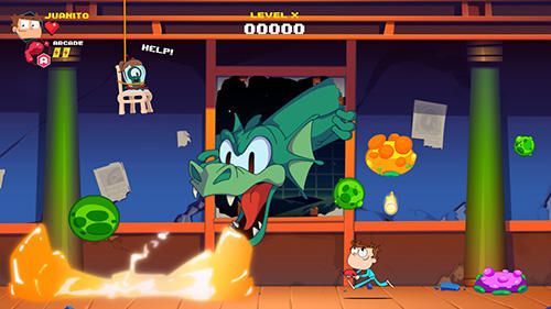 Screenshots do Juanito arcade mayhem - Perigoso para tablet e celular Android.