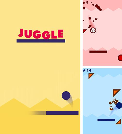 In addition to the game Inertia Escape Velocity for Android phones and tablets, you can also download Juggle for free.