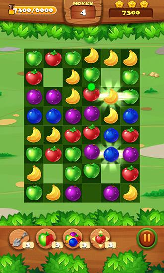 Capturas de pantalla de Juice jelly fruits blast para tabletas y teléfonos Android.
