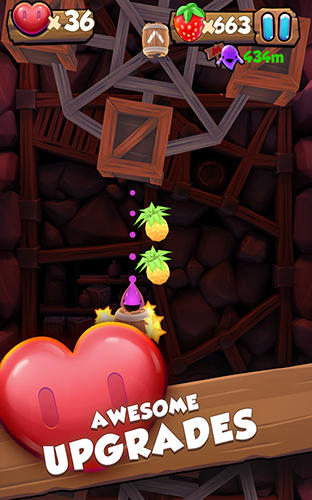 Screenshots of the Juicy jelly barrel blast for Android tablet, phone.