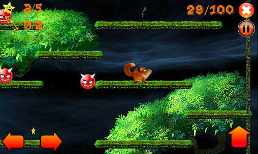 Jump! Jumpy fox screenshot 1