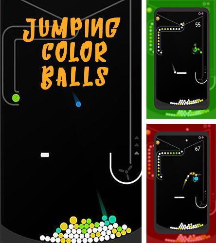 Jumping color balls: Color pong game