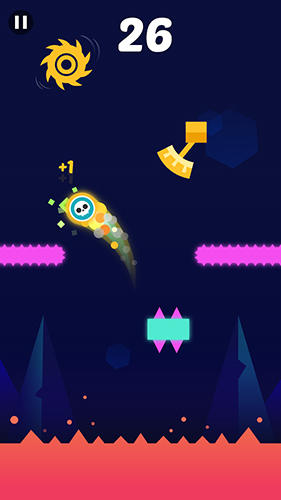 Screenshots von Jumping dash! für Android-Tablet, Smartphone.