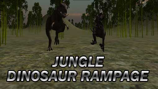 Jungle dinosaur rampage обложка