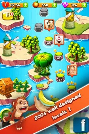 Download Jungle mania Android free game.