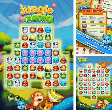 In addition to the game Jett Tailfin Racers for Android phones and tablets, you can also download Jungle mania for free.