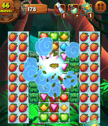 Screenshots von Jungle mash für Android-Tablet, Smartphone.