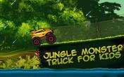 Jungle monster truck for kids APK