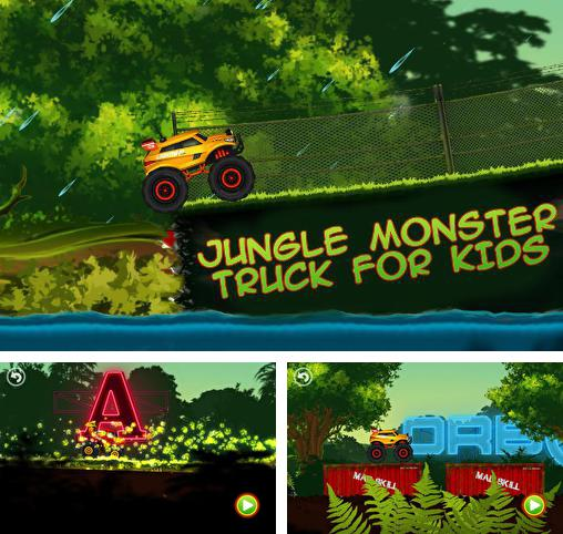 Jungle monster truck for kids